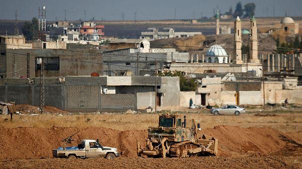 ارتش دولت مرکزی سوریه و نیروهای ترکیه درگیری شدند