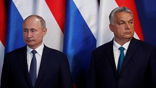 Ουγγαρία: Συνάντηση Πούτιν - Όρμπαν
