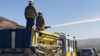 Incendies en Californie : les pompiers progressent malgré les vents