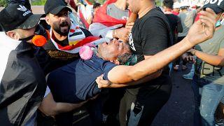 100 قتيل وأكثر من 5 آلاف جريح  خلال أسبوع من الاحتجاجات في العراق