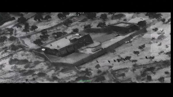 Videofelvételek al-Bagdadi likvidálásáról