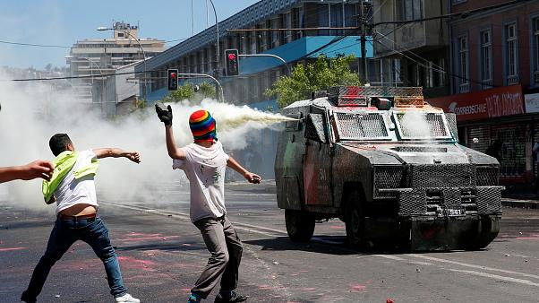 Şili'de hükümet karşıtı eylemler