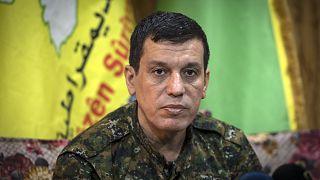 Suriye Demokratik Güçleri (SDG) lideri Mazlum Kobani