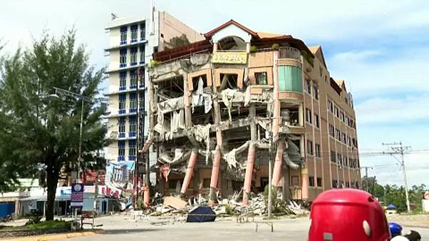Nέα ισχυρή σεισμική δόνηση στις Φιλιππίνες