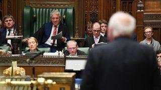 Britain's Speaker of the House of Commons John Bercow speaks at the House of Commons in London, Britain October 30, 2019