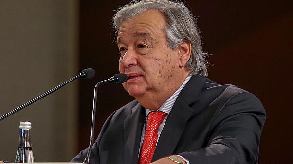 BM Genel Sekreteri: Suriye için toplanan Anayasa Komitesi toplantısı önemli bir kilometre taşı