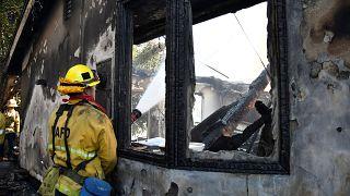 Kaliforniya'daki yangınlarda zenginlere 'özel itfaiye' hizmeti