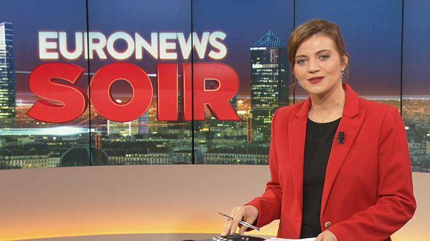 Euronews Soir : l'actualité du jeudi 31 octobre 2019