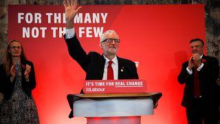 İngiliz İşçi Partisi lideri Jeremy Corbyn