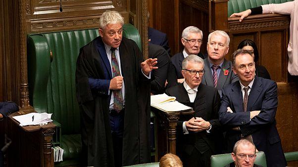 Britain's Speaker of the House of Commons John Bercow in the House of Commons,  Britain, October 29, 201