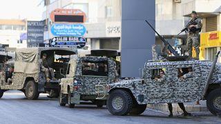 قوات لبنانية وسط مدينة صيدا