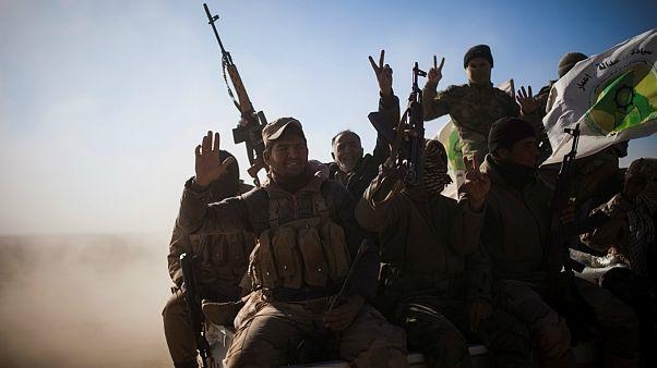 شبه نظامیان حشد شعبی در عراق