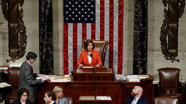 Vote crucial du Congrès américain, renforçant l'enquête pour destituer Trump