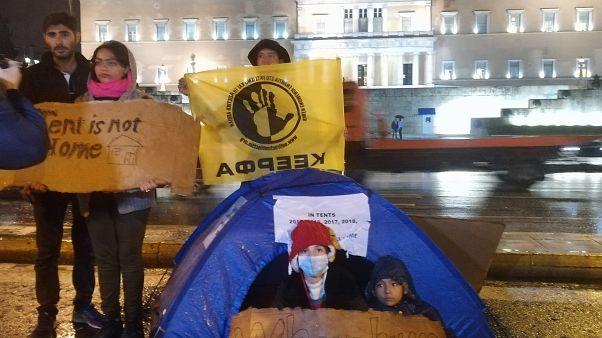 Szigorított a menekültügyi törvényen a görög parlament
