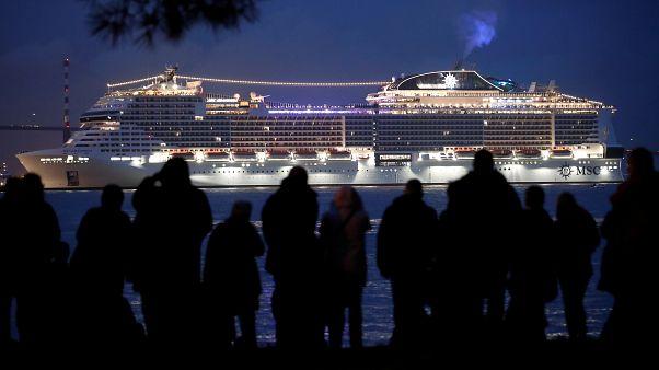 """Un nouveau géant des mers : le """"MSC Grandiosa"""" livré à Saint-Nazaire"""