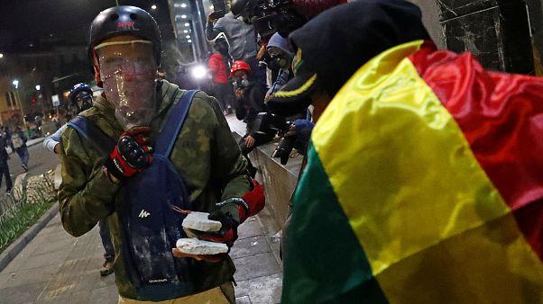 Evo Morales llama a la calma en Bolivia mientras la OEA hace su auditoría