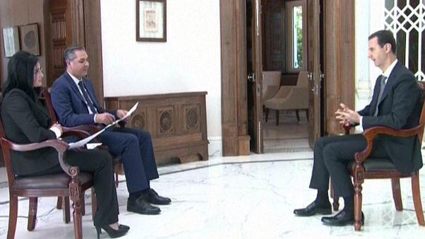 بشار اسد: دونالد ترامپ بهترین رئیس جمهور آمریکاست