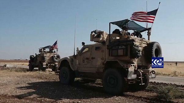 ABD ordusu Suriye'nin kuzeydoğusundaki petrol sahalarında devriyelere yeniden başladı.