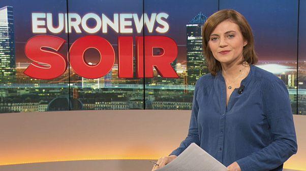 Euronews Soir : l'actualité du vendredi 1er novembre 2019
