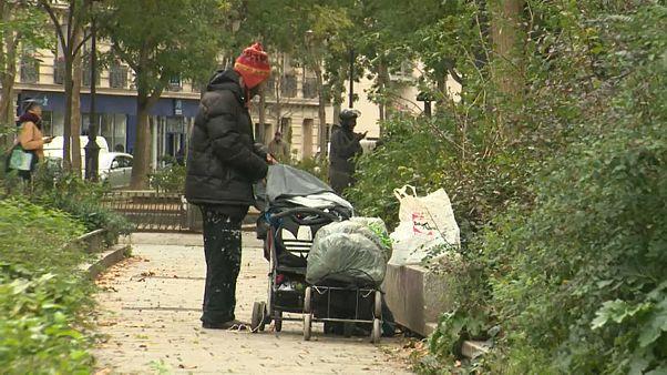 Франция: все больше бездомных гибнут на улице