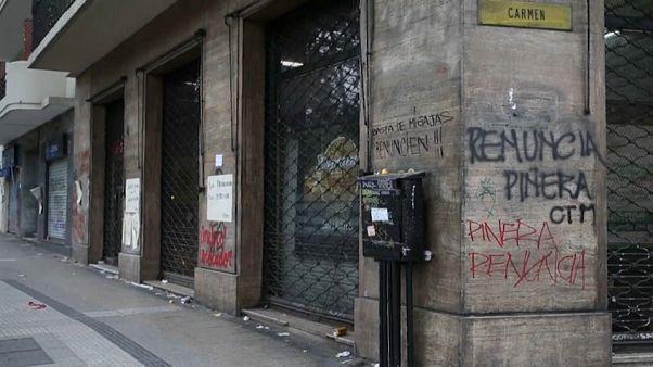 El coste de las protestas en Chile