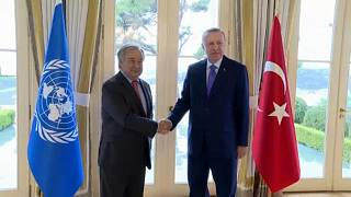 Isztambulban az ENSZ-főtitkár