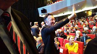 Lukas Bärfuss im Staatstheater Darmstadt