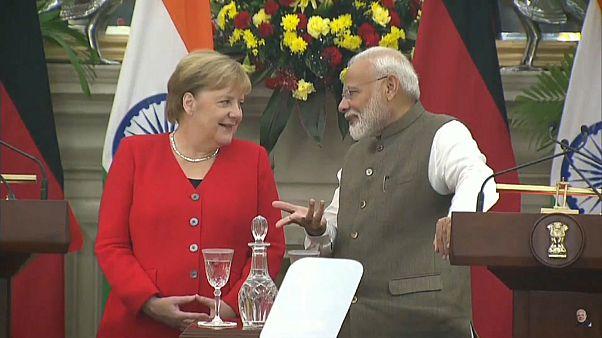 """22 Vereinbarungen: """"Neues Indien"""" mit deutscher Hilfe"""