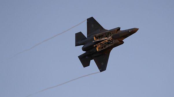 جنگنده اف-۳۵ ارتش اسرائیل