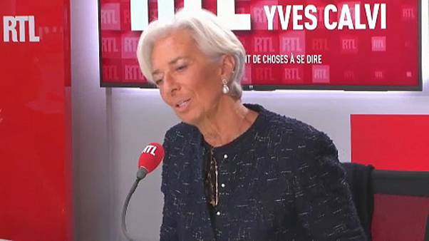 Lagarde toma las riendas del Banco Central Europeo