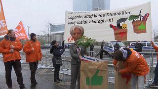 Attac & Co.: Protest gegen EZB und Lagarde