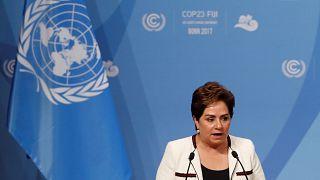 Patricia Espinosa bei einem Treffen in Bonn.
