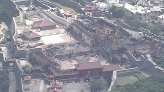 Shuri-Burg: Ermittlungen zur Brandursache