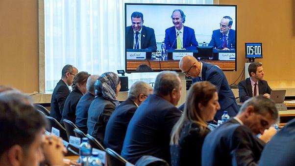 نشست کمیته قانون اساس�� سوریه در ژنو