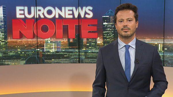 Euronews Noite   As notícias do Mundo de 1 de novembro de 2019