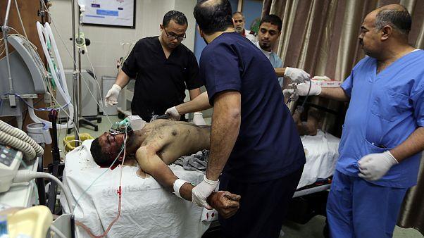 فيديو: مقتل فلسطيني وإصابة اثنين في غارات إسرائيلية على غزة