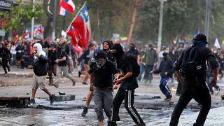 Чили: протесты ударили по туризму