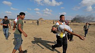 Palestiniano morre depois de vários ataques israelitas