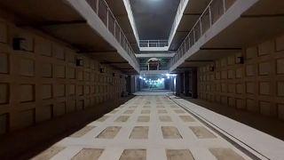 شاهد: إسرائيل تفتتح أول وأكبر مقبرة في العالم تحت الأرض في القدس