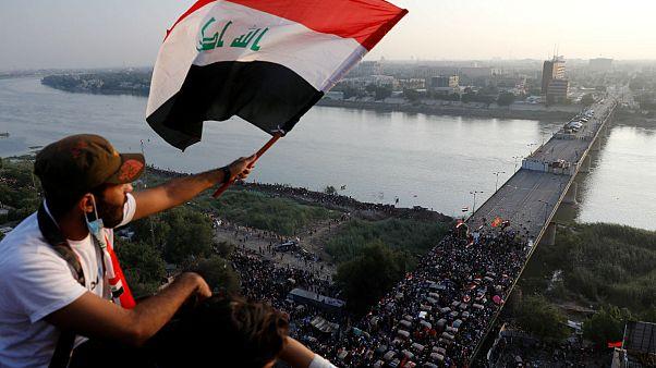 Irak'ta hükümet karşıtı protestoların ana merkezi 'Türk Lokantası' oldu