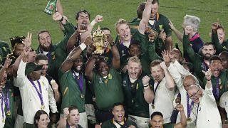 Mondial de rugby : l'Afrique du Sud sacrée