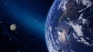 Dünya'ya en yakın ikinci asteroit geçişi tespit edildi