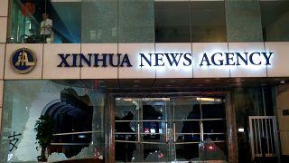 L'agenzia di stampa cinese Xinhua nel mirino del popolo di Hong Kong.