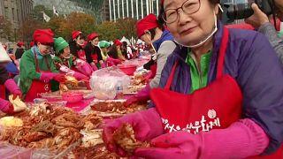 В Сеуле проходит фестиваль кимчхи