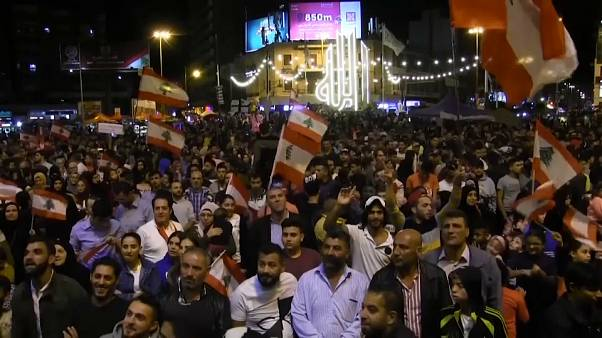 تواصل الإحتجاجات في لبنان