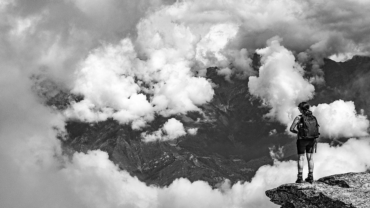 Val Chisone, la montagna in bianco e nero