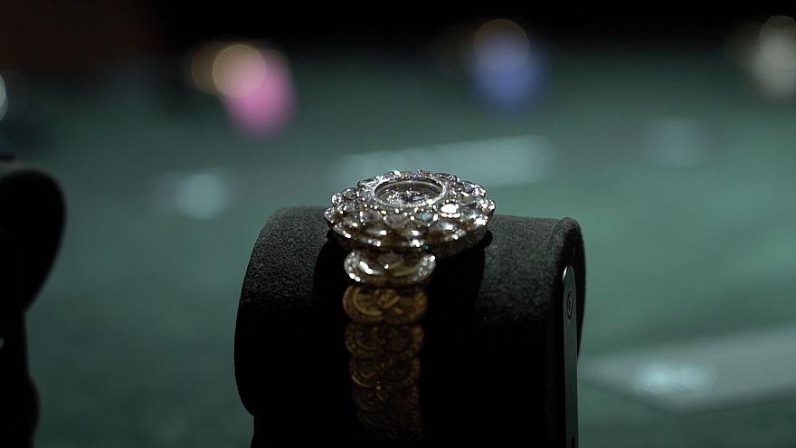 ویدئو؛ رقابت بر سر جایزه ساعت سازی در سوئیس