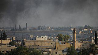 شهر تل ابیض در شمال سوریه