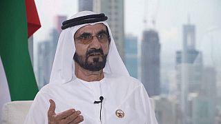 نائب رئيس دولة الإمارات العربية المتحدة رئيس مجلس الوزراء وزير الدفاع وحاكم إمارة دبي محمد بن راشد آل مكتوم