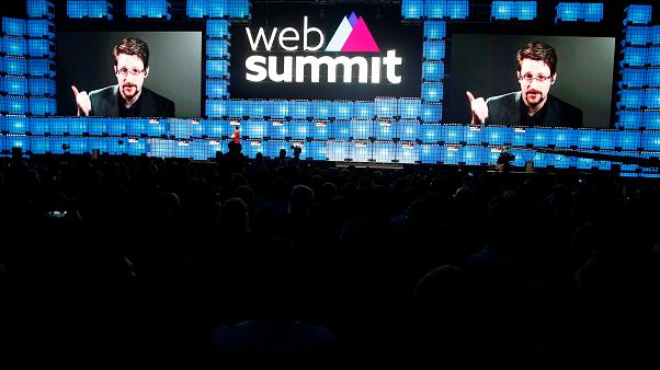Whistleblower Edward Snowden talks data exploitation at Lisbon 'Web Summit' conference